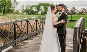 Wedding Venue on Golf Course bridge