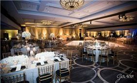 Grand Ballroom Wedding set up