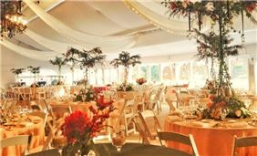 Marquis Tent Wedding Reception