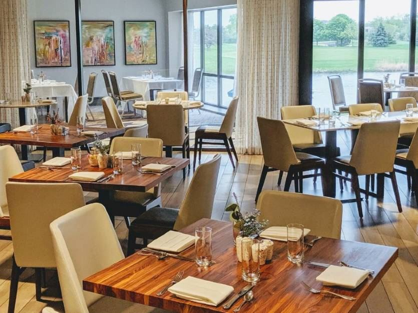 B. Restaurant at Oak brook hills resort Chicago