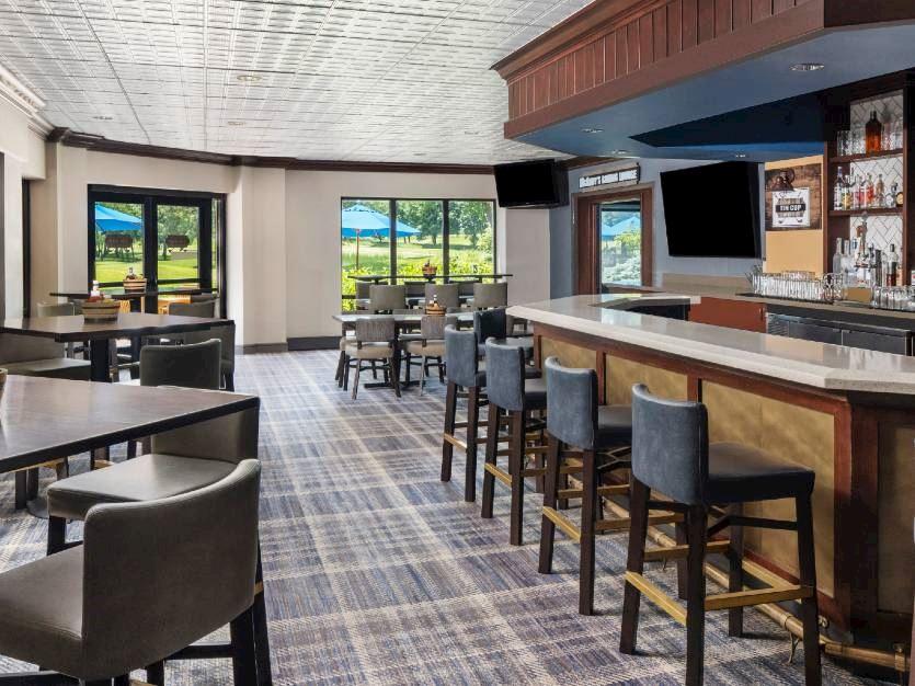 Tin Cup Bar & Grille at Oak brook hills resort Chicago