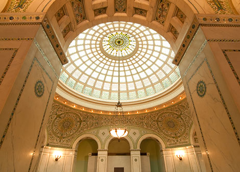 Chicago Cultural Center at Downtown Chicago