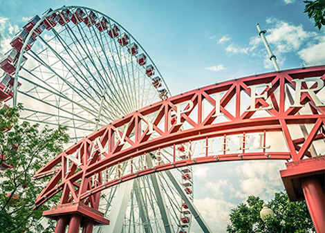 Navy Pier at Downtown Chicago