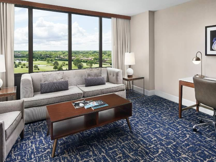 1 King Bed 1 Bedroom Suite-Sofa Bed at Oak brook hills resort Chicago