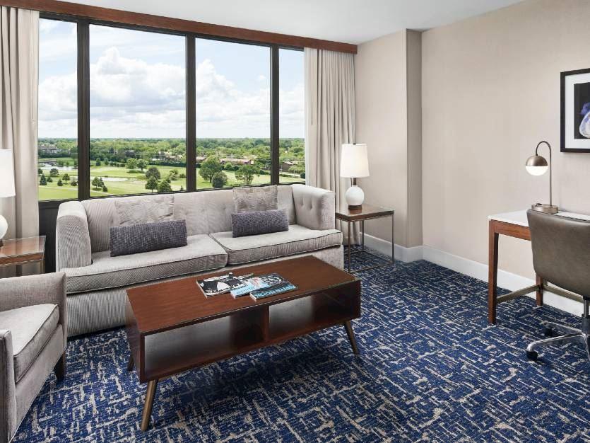 1 King Bed 1 Bedroom Suite-Sofa Bed at Oak brook hills resort Chicago