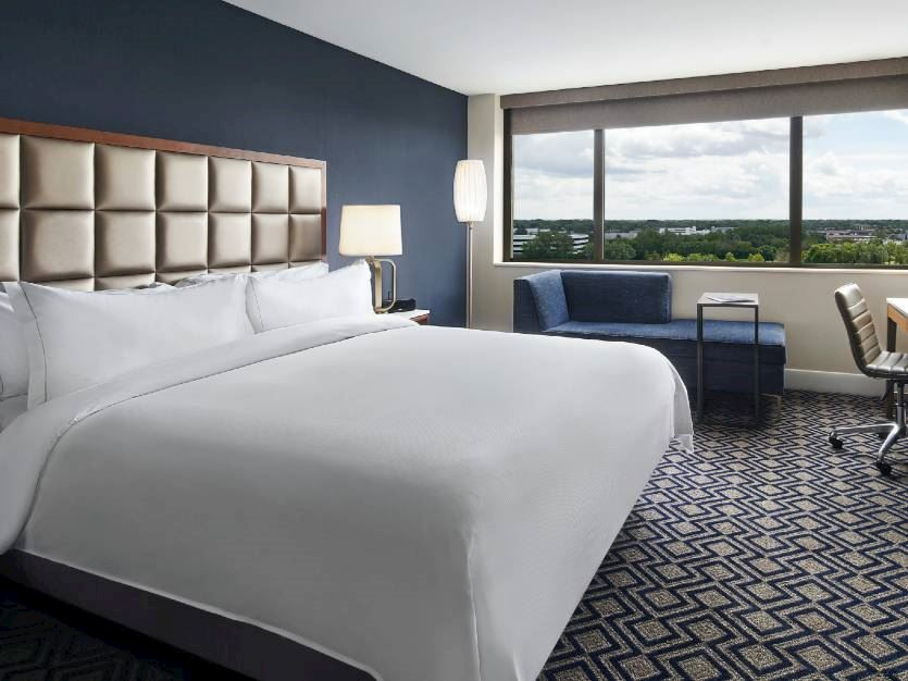 1 King Bed at Oak brook hills resort Chicago