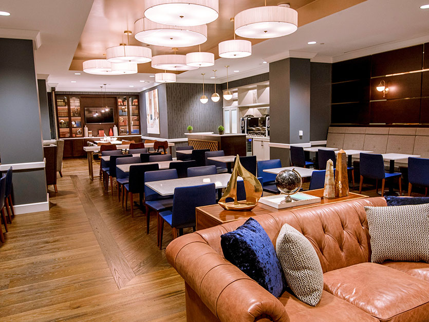 Executive Lounge Upgrade at Oak brook hills resort Chicago