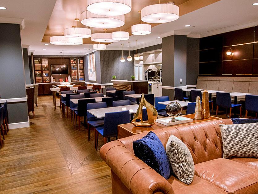 Executive Lounge Upgrade at Oak brook hills resort Chicago