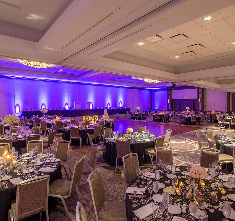 Grand Ballroom at Oak brook hills resort Chicago